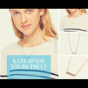 💎 Kate Spade Yours Truly Mini Car Pendant NWOT